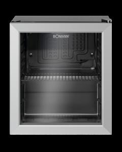 Bomann Glastür-Kühlschrank KSG 7282.1 schwarz