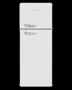 Bomann Retro-Doppeltür-Kühlschrank DTR 353.1 weiß