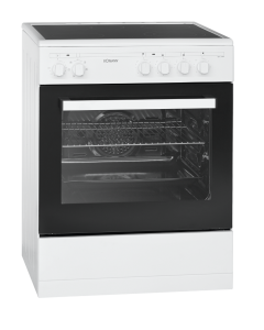 Bomann Stand-Elektroherd EHC 3558 weiß