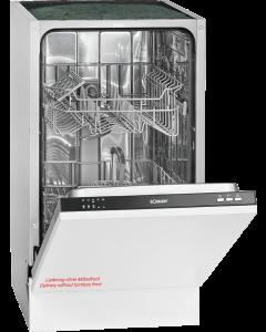 Bomann Vollintegrierter Einbau-Geschirrspüler GSPE 891 silber