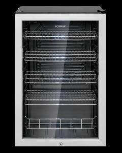 Bomann Glastür-Kühlschrank KSG 7283.1 schwarz