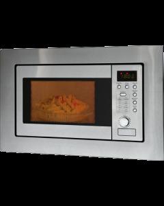 Bomann Einbau-Mikrowelle mit Grill MWG 2215 EB edelstahl