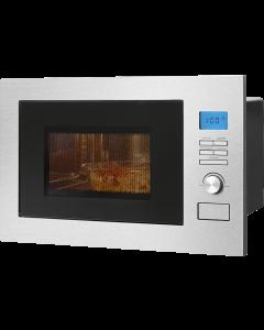 Bomann Einbau-Mikrowelle mit Grill und Heißluft MWG 3001 H EB edelstahl