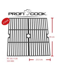 ProfiCook Gußgrillrostset für PC-GG 1128