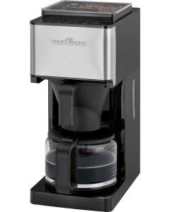 ProfiCook Kaffeeautomat mit Mahlwerk PC-KA 1138 edelstahl/schwarz