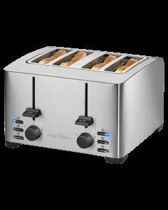 ProfiCook Toaster PC-TA 1073 edelstahl