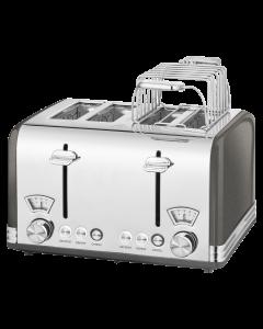 ProfiCook Toaster Vintage  PC-TA 1194 anthrazit