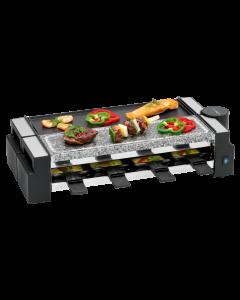 Clatronic Raclette Grill mit heißem Stein RG 3678 schwarz